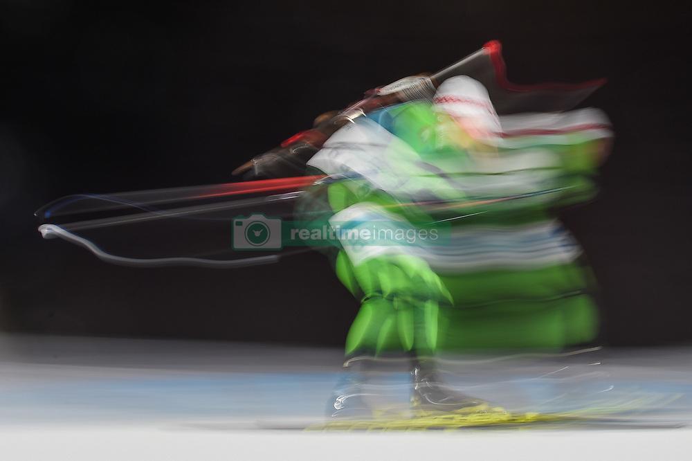 February 11, 2018 - Pyeongchang, Gangwon, South Korea - Anton Smolski ofBelarus at Mens 10 kilometre sprint Biathlon at olympics at Alpensia biathlon stadium, Pyeongchang, South Korea on February 11, 2018. (Credit Image: © Ulrik Pedersen/NurPhoto via ZUMA Press)