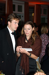 JESSICA CRAIG and HUGH CROSSLEY at the Game Conservancy Jubilee Ball in aid of the Game Conservancy Trust held at The Hurlingham Club, London SW6 on 26th May 2005<br />