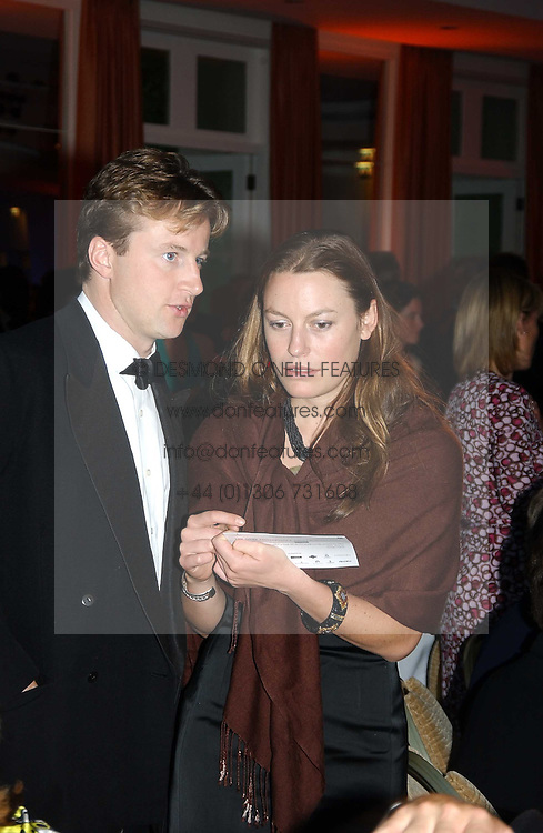 JESSICA CRAIG and HUGH CROSSLEY at the Game Conservancy Jubilee Ball in aid of the Game Conservancy Trust held at The Hurlingham Club, London SW6 on 26th May 2005<br /><br />NON EXCLUSIVE - WORLD RIGHTS
