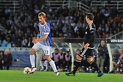 September 14, 2017 - San Sebastian, Gipuzkoa - Basque Country, Spain - Zurutuza of Real Sociedad during the UEFA Europa League Group L football match between Real Sociedad and Rosenborg BK at the Anoeta Stadium, on 14 september 2017 in San Sebastian, Spain  (Credit Image: © Jose Ignacio Unanue/NurPhoto via ZUMA Press)