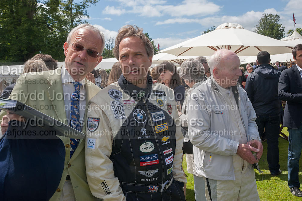 R. N. Fabricus; THE EARL OF MARCH; SIR JOHN SURTEES, The Cartier Style et Luxe during the Goodwood Festivlal of Speed. Goodwood House. 1 July 2012.