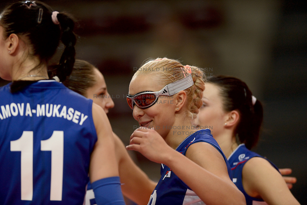 24-09-2014 ITA: World Championship Volleyball Rusland - Mexico, Verona<br /> Rusland wint met 3-0 /