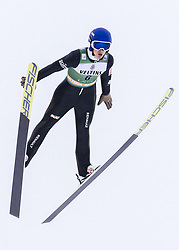 February 8, 2019 - Lahti, Finland - PaweÅ' Twardosz competes during Nordic Combined, PCR/Qualification at Lahti Ski Games in Lahti, Finland on 8 February 2019. (Credit Image: © Antti Yrjonen/NurPhoto via ZUMA Press)
