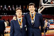 Europeo Stoccarda 1985 premiazioniEuropei Stoccarda 1985 - Giampiero Savio e Renzo Vecchiato con le medaglieFoto: Fabio Ramani
