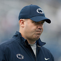 Penn State Nittany Lions head coach Bill O'Brien walks on the field during warm ups prior to a game against the Illinois Fighting Illini on November 2, 2013 at Beaver Stadium in University Park, Pennsylvania.