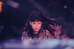 Little Dragon performs at The Treasure Island Music Festival - San Francisco, CA - 10/19/13