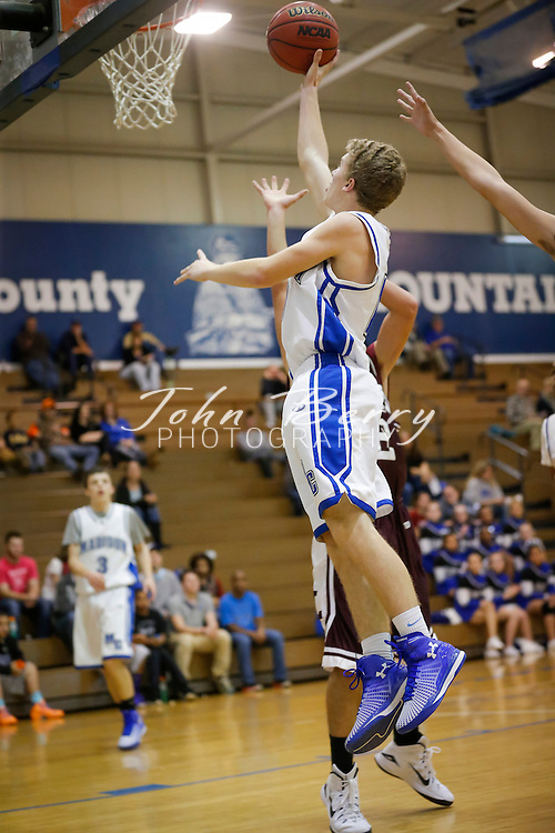 December 01, 2014.  <br /> MCHS JV Boys Basketball vs Luray.  Madison defeats Luray 51-21.