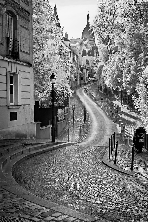 Montmartre Lane, Paris, France