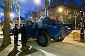 Gilets Jaunes, Police security deployment, Paris.