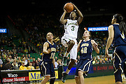 WACO, TX - DECEMBER 12:  Jordan Madden #3 of the Baylor University Bears drives to the basket against the Oral Roberts University Golden Eagles on November 13, 2012 at the Ferrell Center in Waco, Texas.  (Photo by Cooper Neill/Getty Images) *** Local Caption *** Jordan Madden