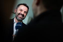 Dusan Kosic head coach of NK Celje during press conference before second part of national football championship Prva Liga Telekom Slovenija, 17 February 2020, Brdo Pri Kranju. Photo By Grega Valancic / Sportida