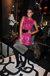 TOLULA ADEYEMI at the launch of the French Connection Denim store at 11 James Street, Covent Garden, London on 21st October 2009.
