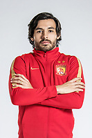 **EXCLUSIVE**Portrait of Brazilian soccer player Ricardo Goulart of Guangzhou Evergrande Taobao F.C. for the 2018 Chinese Football Association Super League, in Guangzhou city, south China's Guangdong province, 8 February 2018.