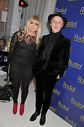 JO WOOD and JAMES BROWN at the Rodial Beautiful Awards 2013 held at St Martin's Lane Hotel, St.Martin's Lane, London on 19th March 2013.