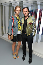 Alexandre de Betak and Sofia Sanchez de Betak at the Louis Vuitton Series 3 VIP Launch held at 180 Strand, London on 20th September 2015.