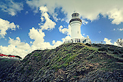 Byron Bay lighthouse located at the most eastern point of Australia in the state of NSW.