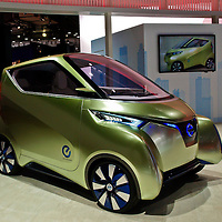 Nissan Pivo 3 Concept (2012) at the Paris Motor Show 2012