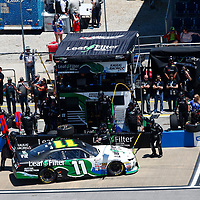 May 06, 2017 - Talladega, Alabama, USA: Blake Koch (11) comes down pit road during the Spark Energy 300 at Talladega Superspeedway in Talladega, Alabama.