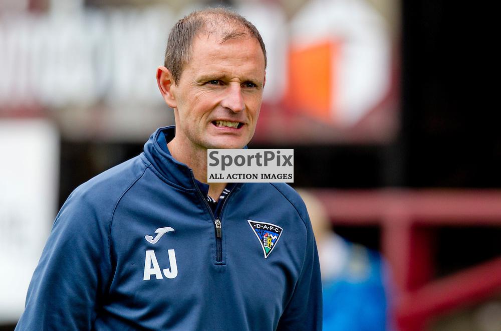 Dunfermline Athletic v Ayr United SPFL League One Season 2015/16 East End Park 12 September 2015<br /> Allan Johnston post match<br /> CRAIG BROWN   sportPix.org.uk