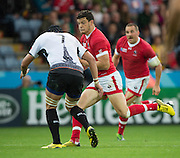 Leicester, Great Britain, Ciaran HEARN, runnin with the ball,during the Pool D game, Canada vs Romania.  2015 Rugby World Cup,  Venue, Leicester City Stadium, ENGLAND.  Tuesday    06/10/2015.   [Mandatory Credit; Peter Spurrier/Intersport-images]