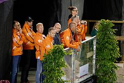 Minderhoud Hans Peter, NED, Van Der Heyden Maarten, NED<br /> FEI European Dressage Championships - Goteborg 2017 <br /> © Hippo Foto - Dirk Caremans<br /> 23/08/2017,