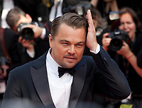 Actor Leonardo DiCaprio at the Once Upon A Time... In Holywood gala screening at the 72nd Cannes Film Festival Tuesday 21st May 2019, Cannes, France. Photo credit: Doreen Kennedy