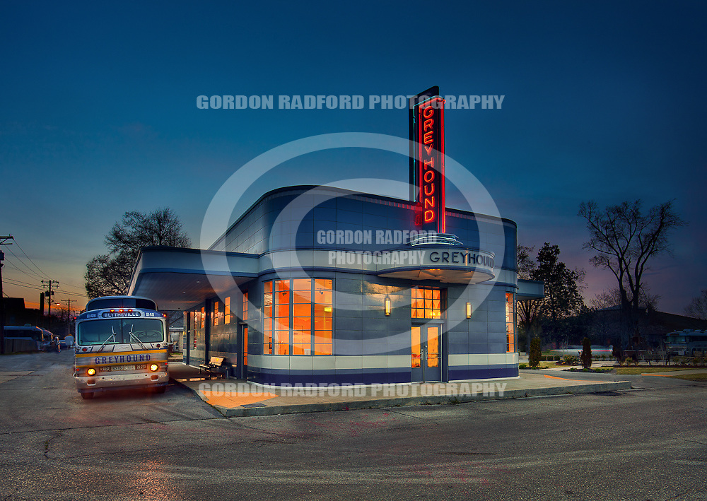 Blytheville, Arkansas Greyhound Depot