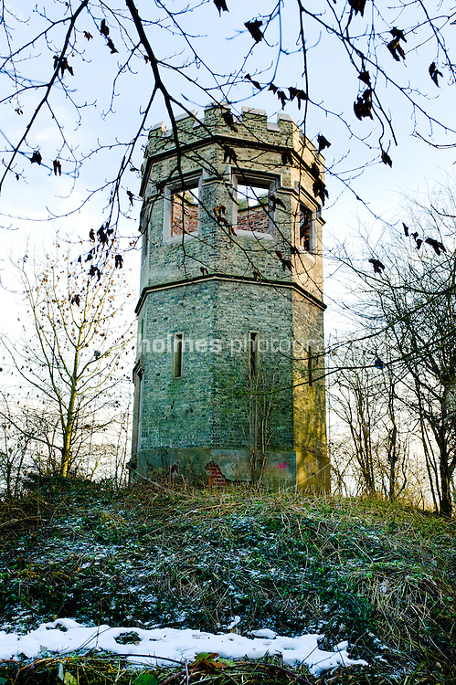 Last remaining turret from Cottingham Castle, Castle Hill Hospital