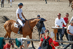 De Winter Jeroen, BEL, Cleopatra Z<br /> European Championship Children, Juniors, Young Riders - Fontainebleau 1028<br /> © Hippo Foto - Dirk Caremans<br /> De Winter Jeroen, BEL, Cleopatra Z