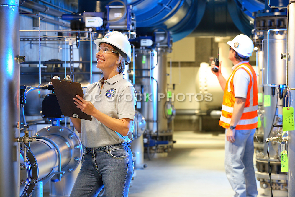 Water Treatment Employees