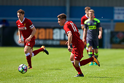 NUNEATON, ENGLAND - Sunday, July 30, 2017: Liverpool's Cameron Brannagan during a pre-season friendly between Liverpool and PSV Eindhoven at the Liberty Way Stadium. (Pic by Paul Greenwood/Propaganda)