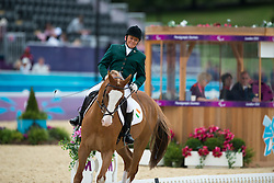 Byrne Eilish (IRL) - Youri<br /> Individual Championship Test  - Grade II  <br /> London 2012 Paralympic Games<br /> © Hippo Foto - Jon Stroud