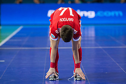 Daniil Davydov of Russia during futsal match between Russia and Poland at Day 1 of UEFA Futsal EURO 2018, on January 30, 2018 in Arena Stozice, Ljubljana, Slovenia. Photo by Urban Urbanc / Sportida