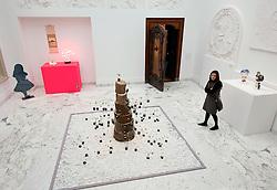 Modern art on display at the Gemeentemuseum in The Hague, Den Haag,  Netherlands