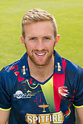 Adam Ball of Kent  during the Kent County Cricket Club Headshots 2017 Press Day at the Spitfire Ground, Canterbury, United Kingdom on 31 March 2017. Photo by Martin Cole.