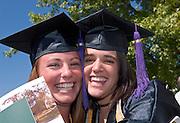 18276Undergraduate Commencement 2007...Jayme Feldman & Sarah Slavik(left)
