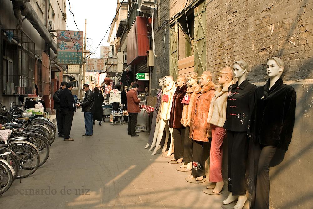 Imágenes de la vida cotidiana en Beijing, China. Febrero 17, 2008. Fotos: Bernardo De Niz