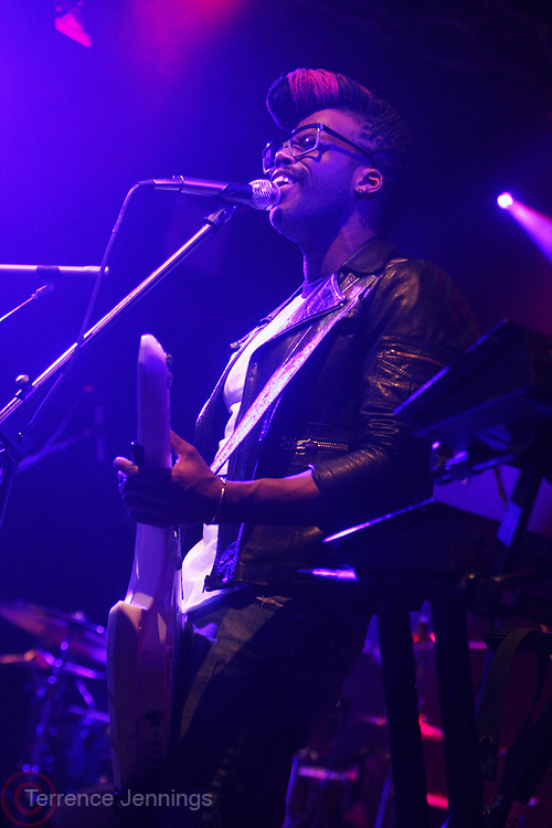 New York, NY- FEBRUARY 28:  Recording Artist Casey Benjamin performs at the Robert Glasper Album Release Party for ' Black Radio '  Presented by Giant Step & Produced by Jill Newman Productions and Second Son Productions held at Highline Ballroom on February 28, 2012 in New York City. Photo Credit: Terrence Jennings