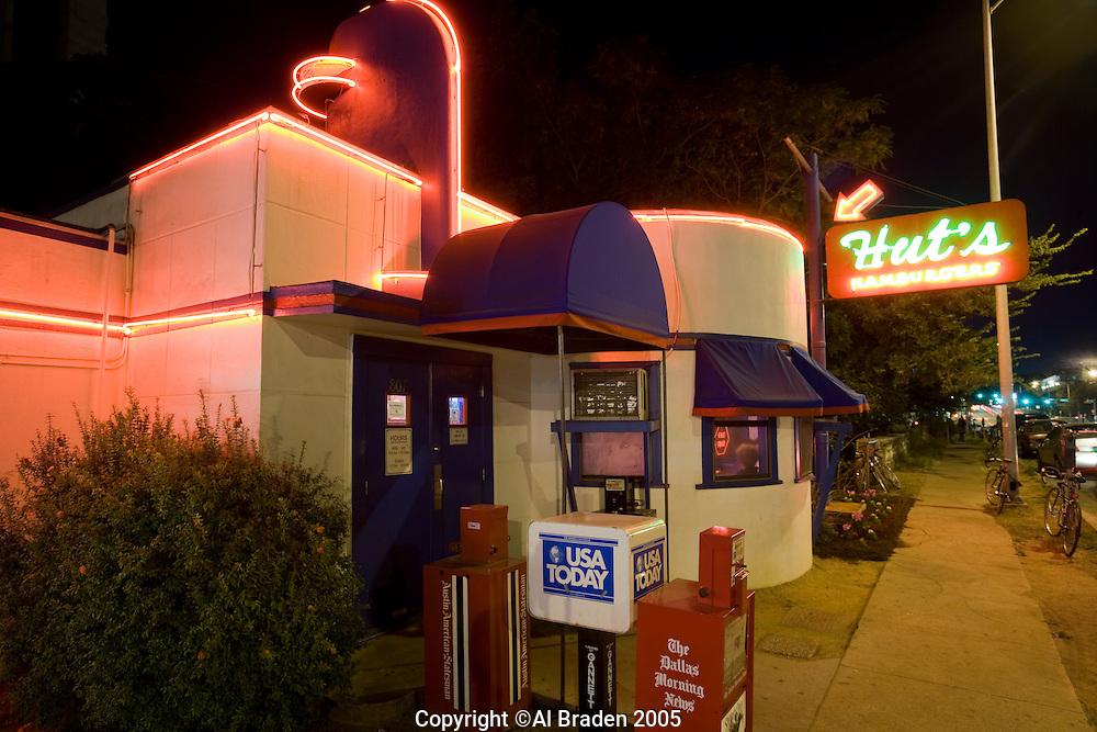 Huts Hamburger, Austin, Texas