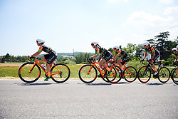 Concernia Zabri - Fanini at Stage 1 of 2019 Giro Rosa Iccrea, an 18 km team time trial from Cassano Spinola to Castellania, Italy on July 5, 2019. Photo by Sean Robinson/velofocus.com