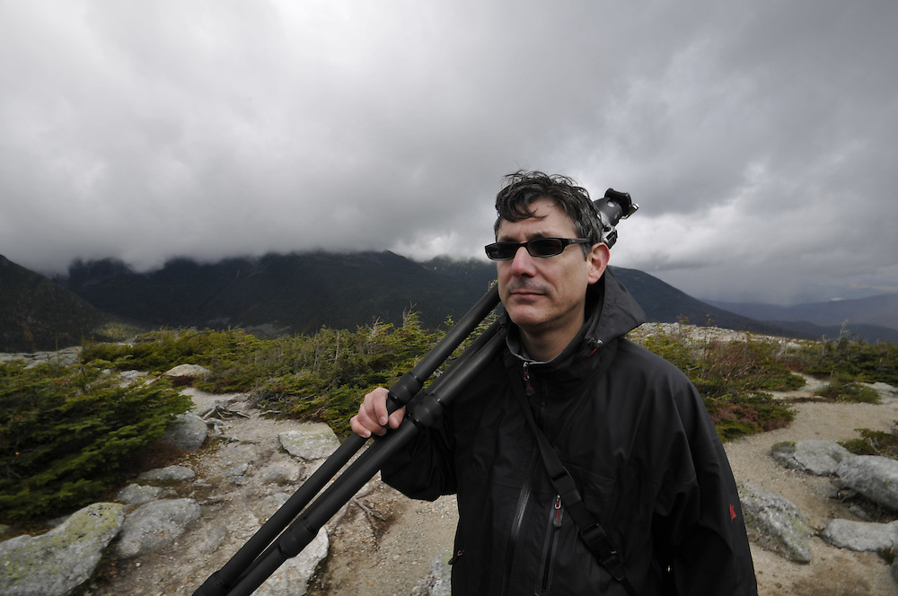 Photographer, Mark Menditto. Mt Washington, New Hampshire.