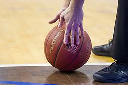 Ball during basketball match between KK Zlatorog Lasko vs KK Lastovka in Semifinal of Spar Slovenian Cup 2016, on February 19, 2016 in Hala Tivoli, Ljubljana, Slovenia. Photo by Urban Urbanc / Sportida