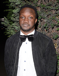 Arnold Oceng attends LCM a/w 2015: Christopher Raeburn and Mens Health Party at The Sanderson Hotel, Berners Street, London on Saturday 10 January 2015
