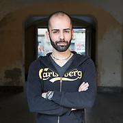 Turin, Italy, March 16, 2017. Luca Minici, 26 years old. <br /><br />Torino, Italia, 16 Marzo 2017. Luca Minici, 26 anni.
