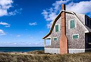 Waterfront beach cottage, Truro, Cape Cod, MA, Massachusetts, USA