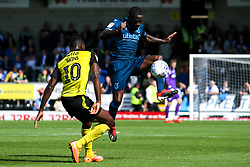 Abu Ogogo of Bristol Rovers takes on Lucas Akins of Burton Albion - Mandatory by-line: Robbie Stephenson/JMP - 31/08/2019 - FOOTBALL - Pirelli Stadium - Burton upon Trent, England - Burton Albion v Bristol Rovers - Sky Bet League One