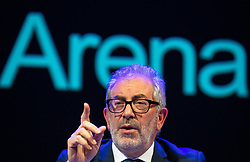 © Licensed to London News Pictures . FILE PICTURE DATED 23/05/2017 as Manchester prepares to mark a year since the Manchester Arena terror attack . Salford, UK. BOB KERSLAKE . The Kerslake Report in to the terrorist bombing of an Ariana Grande concert at the Manchester Arena on 22nd May 2017 , ordered by Greater Manchester Metro Mayor Andy Burnham , is published at a press conference at the University of Salford , at Media City . Amongst praise for many connected with the events, the report also highlights failings in communication at Greater Manchester Fire and Rescue on the night and disreputable behaviour by some sections of the media in the aftermath of the attack . Photo credit : Joel Goodman/LNP