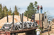 October 15th Winnsboro Texas, Envirnemntal activist in the Tar Sands Blockade arrested after climbing on top of a work vehical attempting to attach a protest banner on it.  The Tar Sands Blockade  holds their largest direct action protest to date, shutting down construction on one of  TransCanada's Keystone Pipeline worksites.