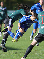 Napier City Rovers vs Wairarapa United in a round of the Chatham Cup, Park Island, Napier, 17 May 2012 ...This image is copyright of alphapix / John Cowpland..No images may be stored, manipulated, distributed or altered in any way, without written permission or license to do so. info@alphapix.co.nz and www.alphapix.co.nz ... Phone +64 6 8445334 or Mobile + 64 272533464