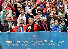 50 years of the ordination of women into the Church of Scotland, Edinburgh 22 May 2018